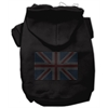Mirage Pet Products British Flag Hoodies Black XL (16)