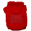 Mirage Pet Products British Flag Hoodies Red XXXL(20)