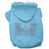 Mirage Pet Products Canadian Flag Hoodies Baby Blue XS (8)