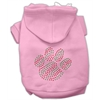 Mirage Pet Products Holiday Paw Hoodies Pink XS (8)