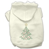 Mirage Pet Products Christmas Tree Hoodie Cream XXXL(20)