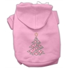 Mirage Pet Products Christmas Tree Hoodie Pink XS (8)