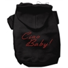 Mirage Pet Products Ciao Baby Hoodies Black XS (8)