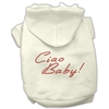 Mirage Pet Products Ciao Baby Hoodies Cream XXXL(20)
