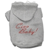 Mirage Pet Products Ciao Baby Hoodies Grey XXXL(20)