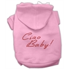 Mirage Pet Products Ciao Baby Hoodies Pink XXXL(20)