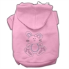 Mirage Pet Products Bunny Rhinestone Hoodies Pink S (10)