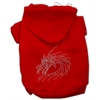 Mirage Pet Products Studded Dragon Hoodies Red XS (8)