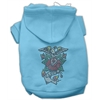 Mirage Pet Products Eagle Rose Nailhead Hoodies Baby Blue XXL (18)