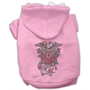 Mirage Pet Products Eagle Rose Nailhead Hoodies Pink XS (8)