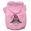 Mirage Pet Products Santa Penguin Rhinestone Hoodies Pink XXXL(20)