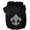 Mirage Pet Products Fleur de lis Hoodies Black XXL (18)