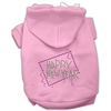Mirage Pet Products Happy New Year Rhinestone Hoodies Pink XS (8)