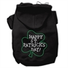 Mirage Pet Products Happy St. Patrick's Day Hoodies Black L (14)