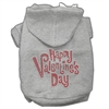 Mirage Pet Products Happy Valentines Day Rhinestone Hoodies Grey XL (16)