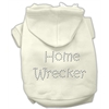 Mirage Pet Products Home Wrecker Hoodies Cream M (12)