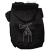 Mirage Pet Products London Rhinestone Hoodies Black XL (16)