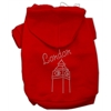 Mirage Pet Products London Rhinestone Hoodies Red S (10)