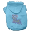 Mirage Pet Products Louisiana Rhinestone Hoodie Baby Blue S (10)