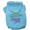 Mirage Pet Products Mardi Gras Rhinestud Hoodies Baby Blue XL (16)