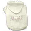 Mirage Pet Products Minx Hoodies Cream XXXL(20)
