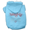 Mirage Pet Products Naughty But Nice Hoodies Baby Blue XXXL(20)