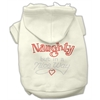 Mirage Pet Products Naughty But Nice Hoodies Cream XXXL(20)