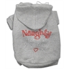 Mirage Pet Products Naughty But Nice Hoodies Grey XXXL(20)