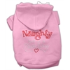 Mirage Pet Products Naughty But Nice Hoodies Pink XS (8)