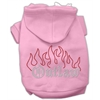 Mirage Pet Products Outlaw Rhinestone Hoodies Pink XXXL(20)