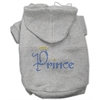 Mirage Pet Products Prince Rhinestone Hoodies Grey XXXL(20)