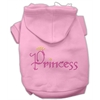 Mirage Pet Products Princess Rhinestone Hoodies Pink XL (16)
