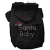 Mirage Pet Products Santa Baby Hoodies Black XS (8)