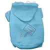 Mirage Pet Products Santa Stop Here Hoodies Baby Blue XS (8)