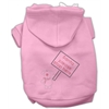 Mirage Pet Products Santa Stop Here Hoodies Pink XXXL(20)
