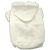Mirage Pet Products Snowflake Hoodies Cream XXXL(20)