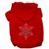 Mirage Pet Products Snowflake Hoodies Red XS (8)