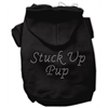 Mirage Pet Products Stuck Up Pup Hoodies Black XL (16)