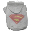 Mirage Pet Products Super! Rhinestone Hoodies Grey XL (16)