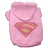 Mirage Pet Products Super! Rhinestone Hoodies Pink XXXL(20)