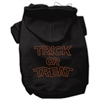 Mirage Pet Products Trick or Treat Rhinestone Hoodies Black XS (8)