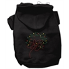 Mirage Pet Products Christmas Wreath Hoodie Black XS (8)