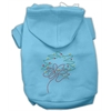Mirage Pet Products Christmas Wreath Hoodie Baby Blue XS (8)