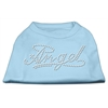 Mirage Pet Products Angel Rhinestud Shirt Baby Blue XXXL(20)