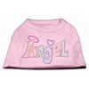 Mirage Pet Products Technicolor Angel Rhinestone Pet Shirt Light Pink XL (16)