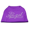 Mirage Pet Products Angel Rhinestud Shirt Purple XXXL(20)
