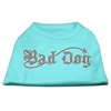 Mirage Pet Products Bad Dog Rhinestone Shirts Aqua XXXL(20)