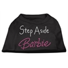 Mirage Pet Products Step Aside Barbie Shirts Black XS (8)