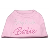 Mirage Pet Products Step Aside Barbie Shirts Light Pink XXXL(20)