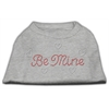 Mirage Pet Products Be Mine Rhinestone Shirts Grey XXXL(20)